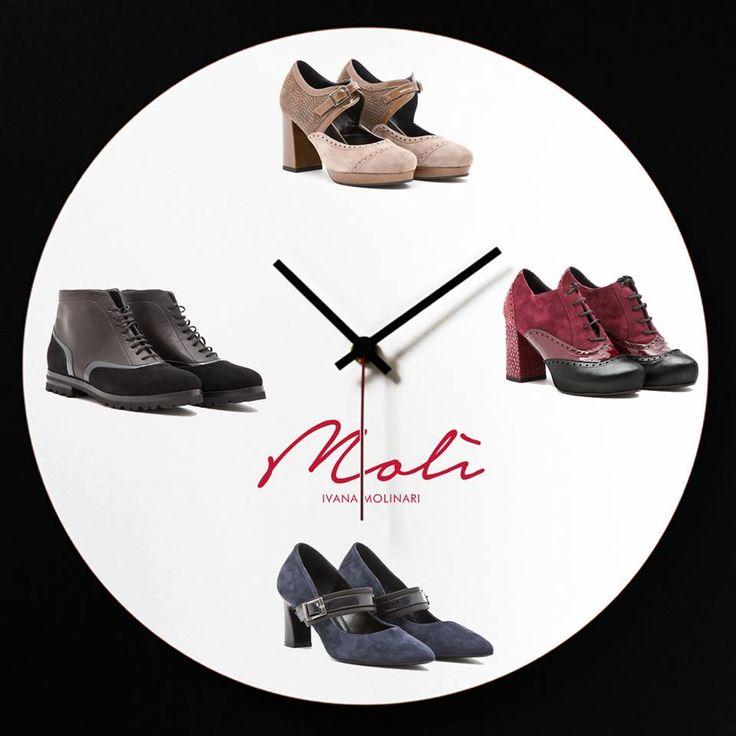 """THE COUNTDOWN TO THE NEW SEASON is starting! Presto le scarpe """"Belle con l'anima"""" da indossare sempre, potrai acquistarle su www.molìivanamolinari.it #comingsoon #molì #shoponline #molìofficial #shoesonline #fallwinter16/17 #ilovemyshoes #scarpedonna"""