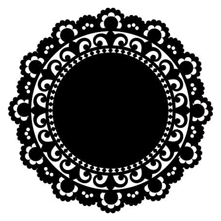 Doily Shape 1 by Marisa Lerin | Pixel Scrapper digital scrapbooking