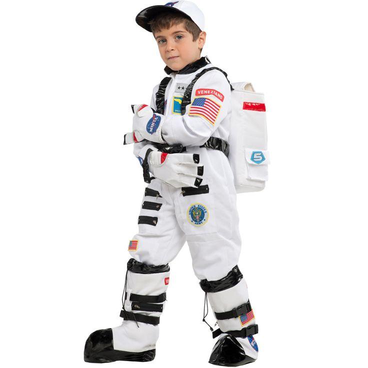 Un déguisement d'astronaute super complet et top qualité pour un vrai fan de l'espace !