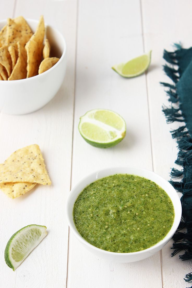 Tomatillo-Salsa-Verde-Recipe | Recipes | Pinterest