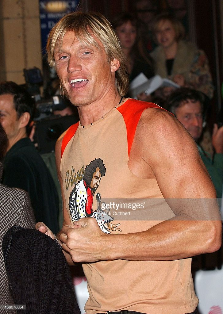 2003: Dolph Lundgren Attends The 'Fashion Rocks' Gala Evening, At London's Royal Albert Hall In Aid Of The Prince's Trust.