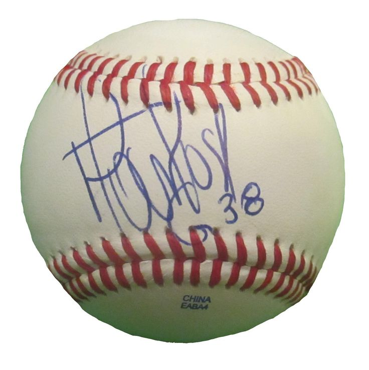 Minnesota Twins Jose Martinez signed Rawlings ROLB leather baseball w/ proof photo.  Proof photo of Jose signing will be included with your purchase along with a COA issued from Southwestconnection-Memorabilia, guaranteeing the item to pass authentication services from PSA/DNA or JSA. Free USPS shipping. www.AutographedwithProof.com is your one stop for autographed collectibles from Minnesota sports teams. Check back with us often, as we are always obtaining new items.