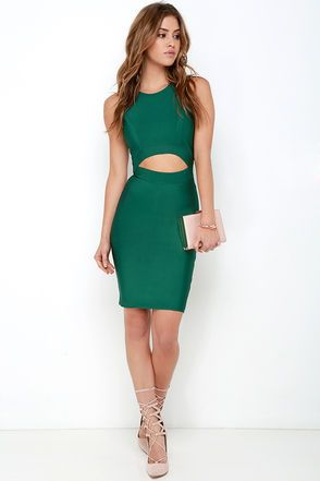 17 best ideas about Sexy Green Dress on Pinterest | Elegant prom ...