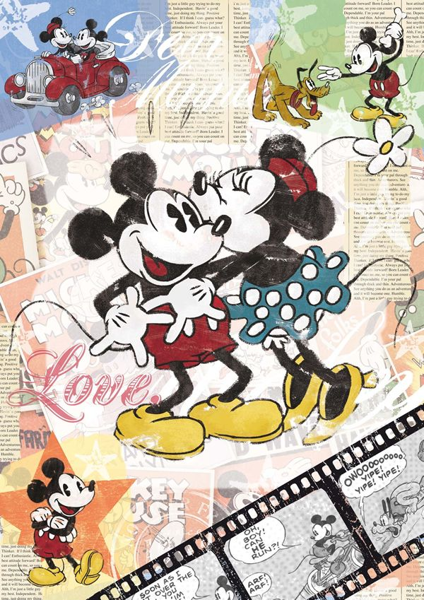 Ravensburger Jigsaw Puzzles:  Disney Retro Mickey Jigsaw Puzzle at the Jigsaw Shop | R14118