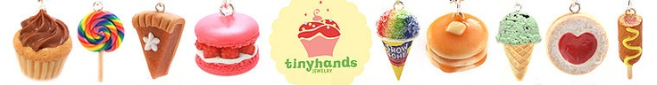 Super cute scented food jewelry by tinyhands on Etsy