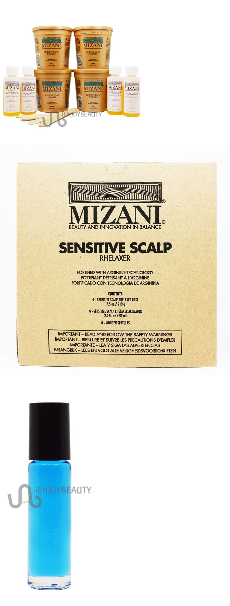 Sets and Kits: Mizani Sensitive Scalp Relaxer 4 Application Kit W Free Body Oil -> BUY IT NOW ONLY: $31.99 on eBay!