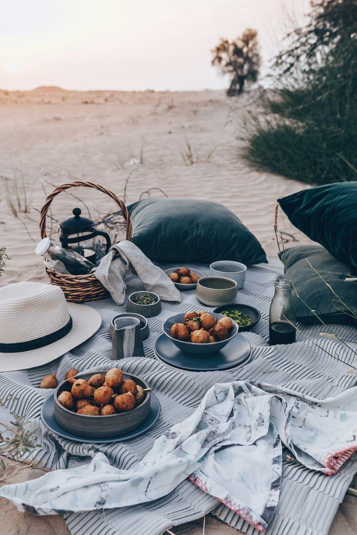 Emirati Sweet Dumplings With Coffee Syrup (Luqaimat) – A Vegan Recipe by Kati of…