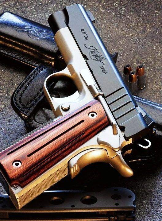 Custom Kimber 1911. GunRightsAttorneys.Com