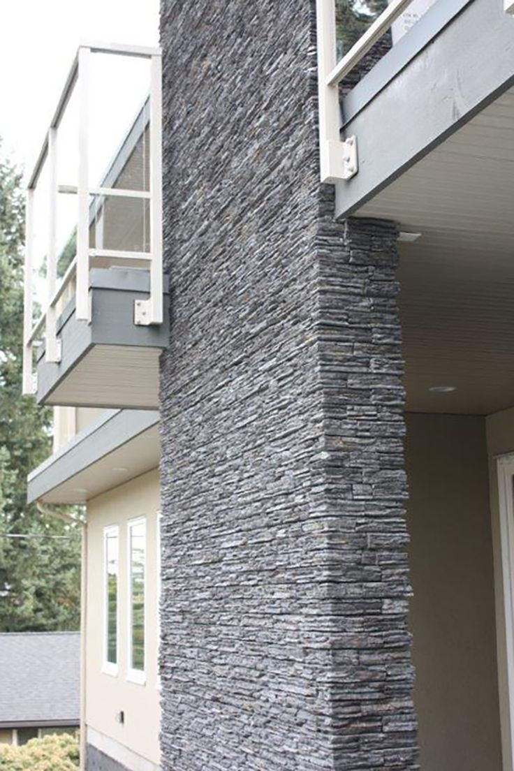83 best exterior facade details images on pinterest for Mortarless stone siding
