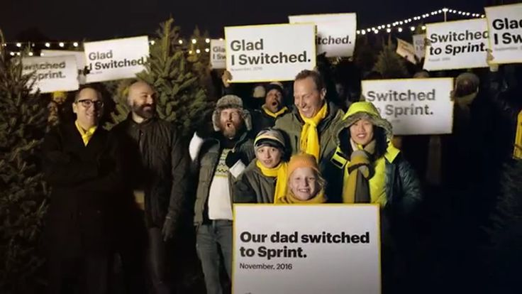 Sprint Tree Time #TisTheSeason to Switch to Sprint and save! TV Commercial ad advert 2016  Sprint TV Commercial • Sprint advertsiment • Tree Time #TisTheSeason to Switch to Sprint and save! • Sprint Tree Time #TisTheSeason to Switch to Sprint and save! TV commercial • It's 2016 – All networks are great now! In fact, Sprint's reliability is now within 1% of Verizon . #FactsMatter #TMobile #ATT #Tracfone #Verizon #Sprint #USA #network #data #techn