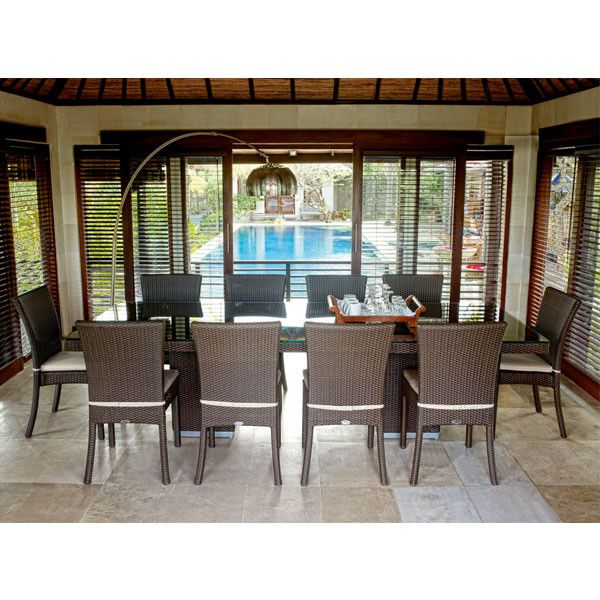 2017 Newest Garden resin rattan used party chinese restaurant tables and chairs for sale
