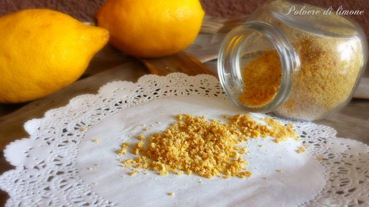 Polvere di limone, aroma per dolci