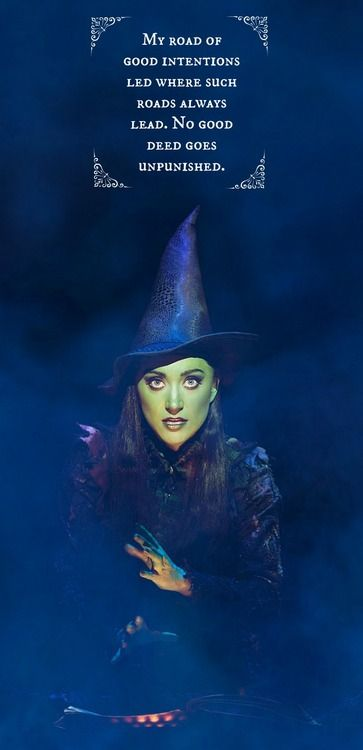 A 'wicked'ly beautiful image ;) Sorry for the pun, but only a little. #Broadway #Wicked