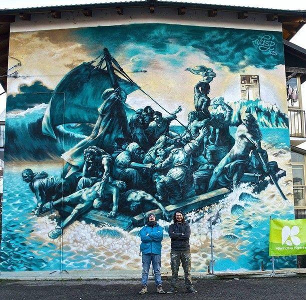 """Oltre 30 """"street artist"""" nel mese di marzo rivoluzioneranno la città di Chivasso (fotogallery)-Quotidiano online della provincia di Torino"""