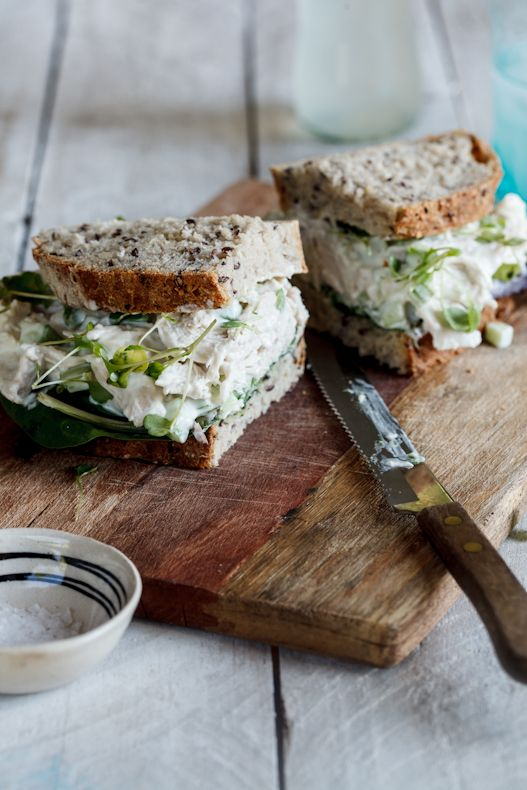 Chicken salad sandwich | Simply Delicious #Recipe #Food #Foodphotography #Foodstyling #Lunch