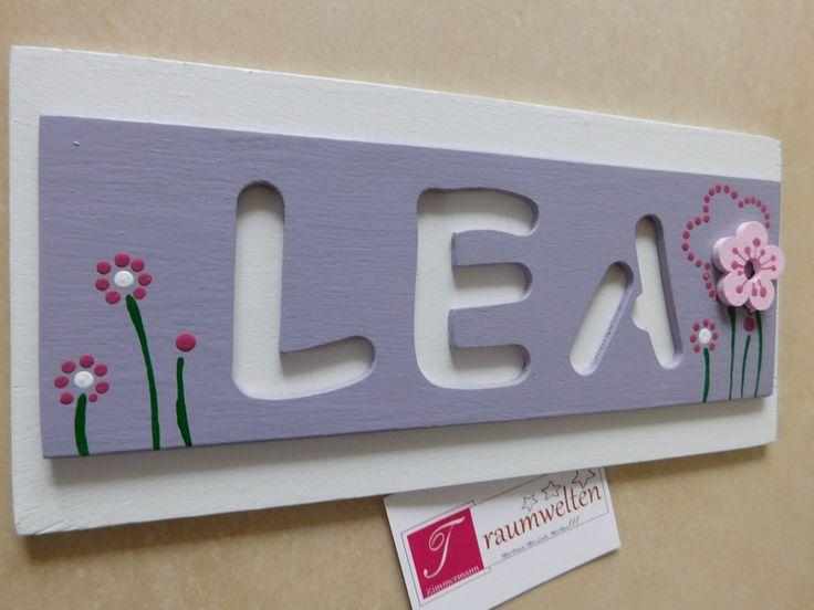 Kinderzimmer namensschild ~ Ideen für das kinderzimmer diy namensschilder diy banner ideas