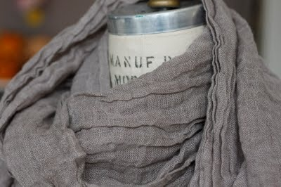 linen scarf - Soft, Cool, & Not Scratchy...