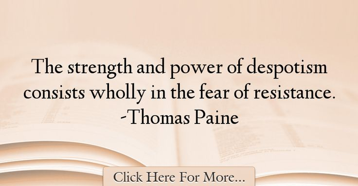 Thomas Paine Quotes About Power - 56674