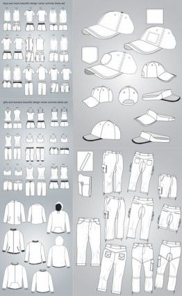 costume design vector