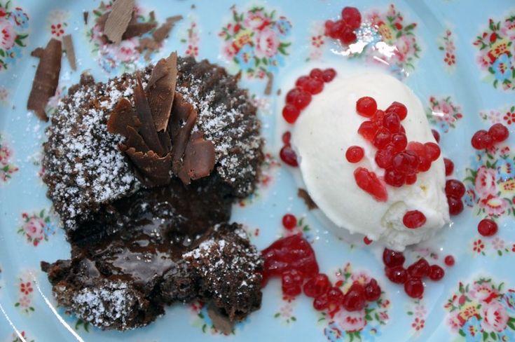 Chokolade Fondant, Frankrig,Andet, Dessert, Bagværk, opskrift