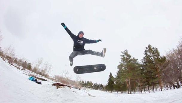 Ten, 10 años de snowskate en 10 minutos | Trickon