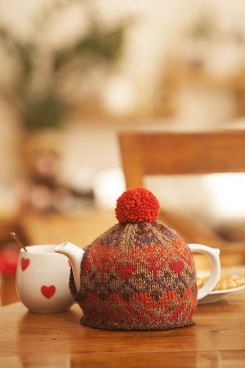 ...aby Vám nevychladl čaj #knitting #cosy #tea