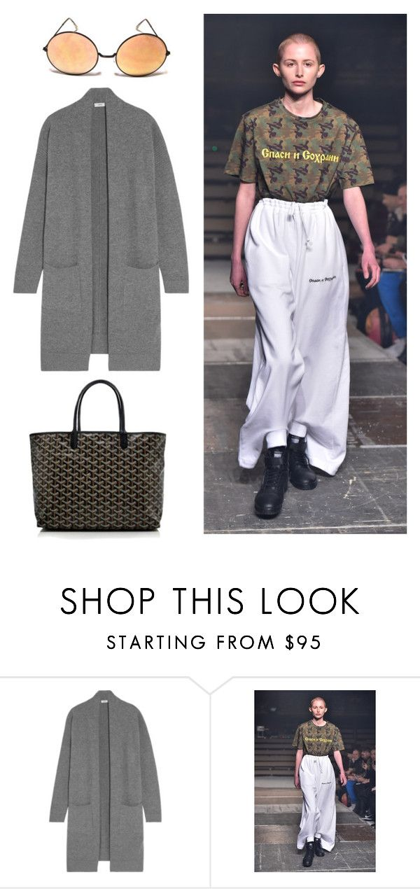 """#untitled6"" by yuna92 on Polyvore featuring Vince and Goyard"