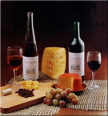 combinacion de vinos y quesos