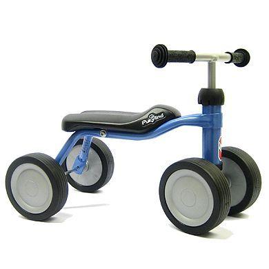 PUKY Rowerek biegowy na czterech kółkach Pukylino kolor jasnoniebieski metallic4016