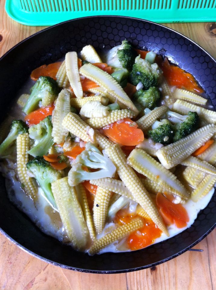 Stir Fry Vegetable with Egg