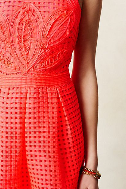 Obsessed with the details of this dress