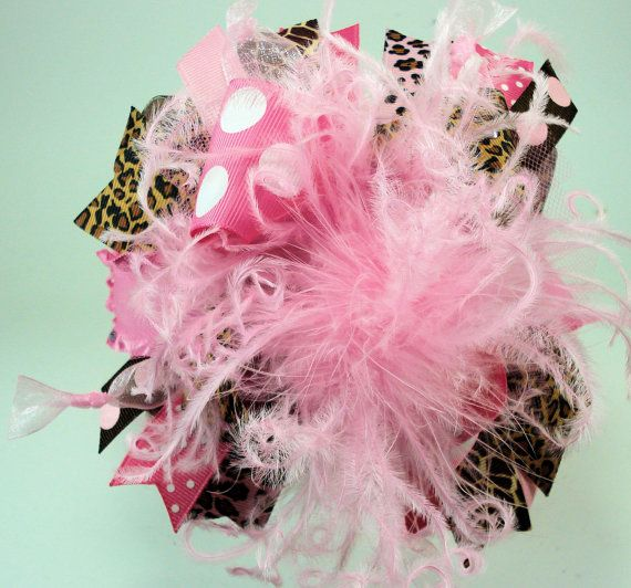 Miss Priss is My Name...Hot Pink and Leopard Over by sanchezc30, $19.99