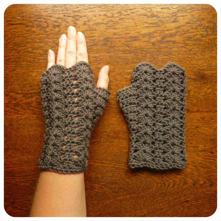 Glorieux Crochet PATTERN PDF Fingerless di SharaLambethDesigns