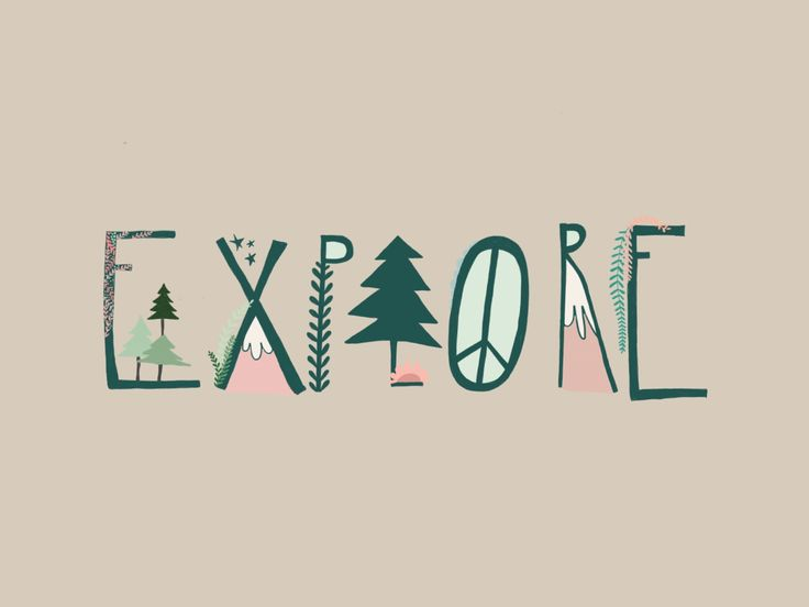 Explore Illustration by Maddox and Klaus www.maddoxandklaus.etsy.com Mountains, pine trees, forest.