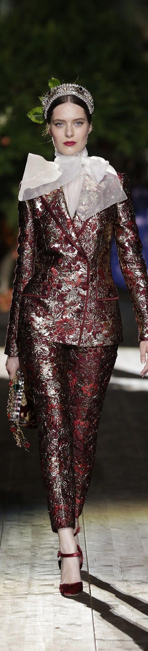 ~Dolce Gabbana Alta Moda 2015