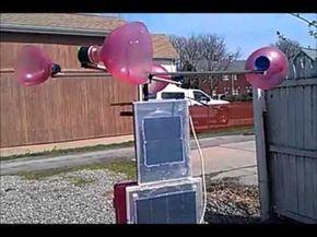 How to make a small backyard wind power generator