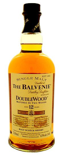 Balvenie 12 year old Doublewood Single Malt Whisky 750ml