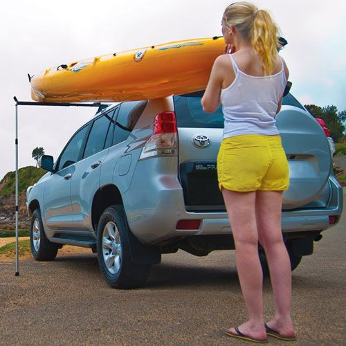 Rhino Rack Universal Side Loader In 2020 Kayak Rack For Car Kayaking Kayak Roof Rack