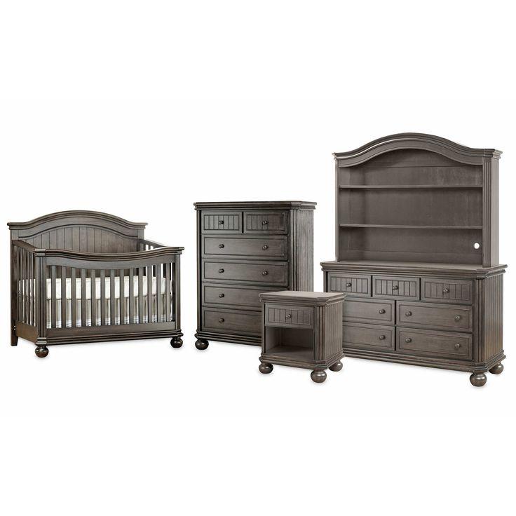 Sorelle Finley Nursery Furniture Collection in Vintage Grey