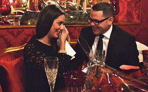 Demande en mariage au restaurant organisée par www.apoteosurprise.com !