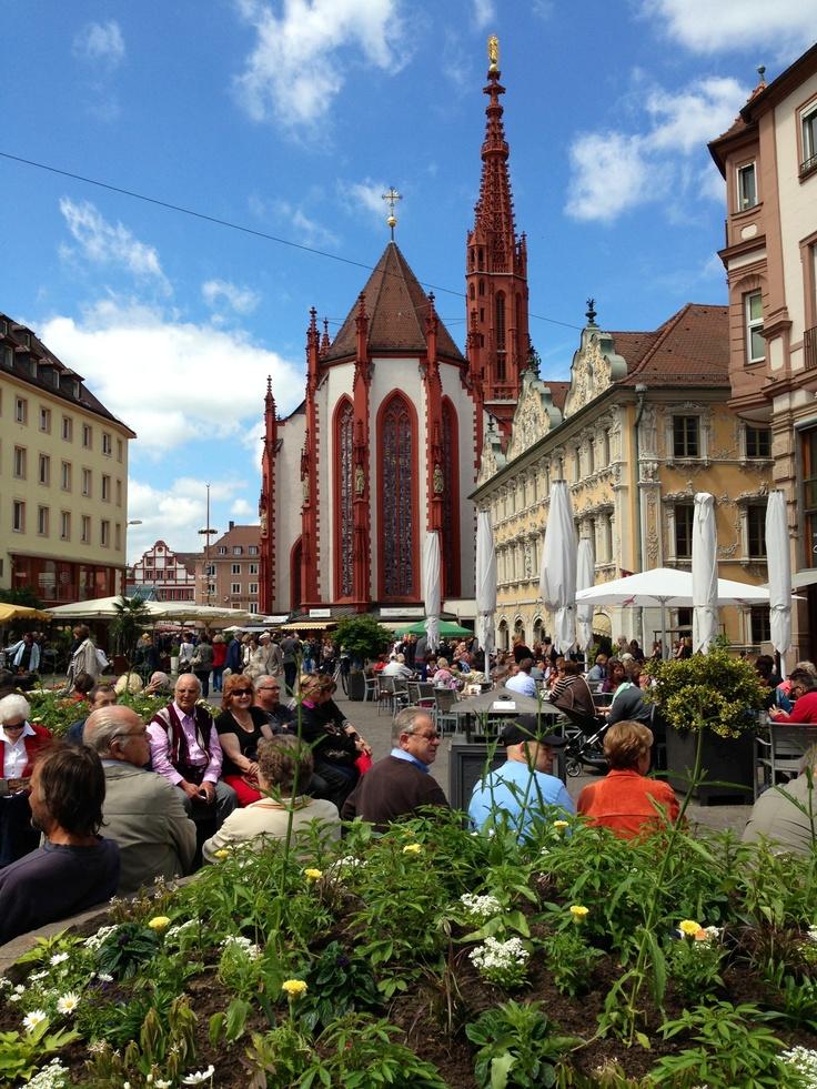 Würzburg İnnenstadt(Center of Würzburg)