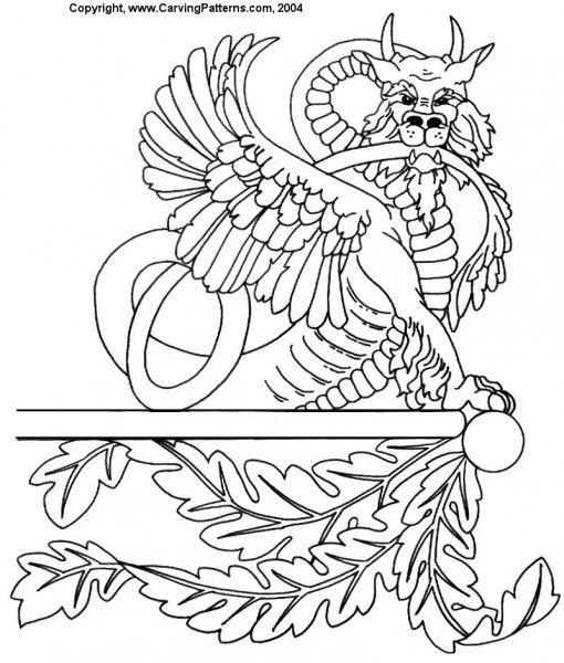Más de imágenes sobre wood carving patterns en