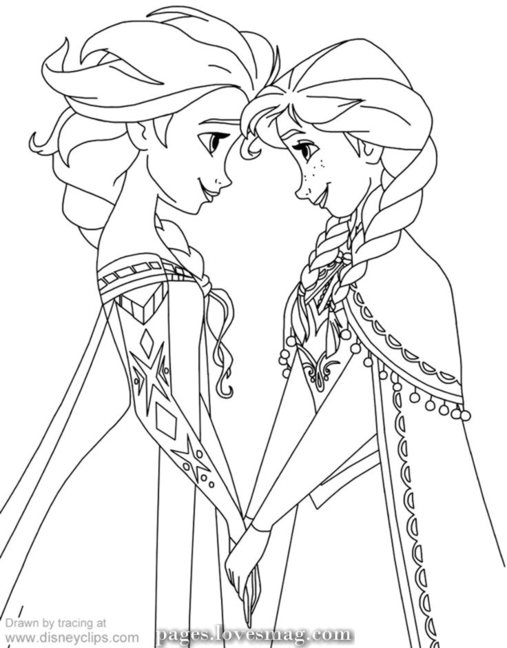 Fantastic Coloring Pages Of Anna And Elsa Frozen Coloring Pages Of Disney Disneyclips Elsa Coloring Pages Disney Coloring Pages Disney Princess Coloring Pages