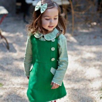 Luella Grassy Dress - Oobi.com.au