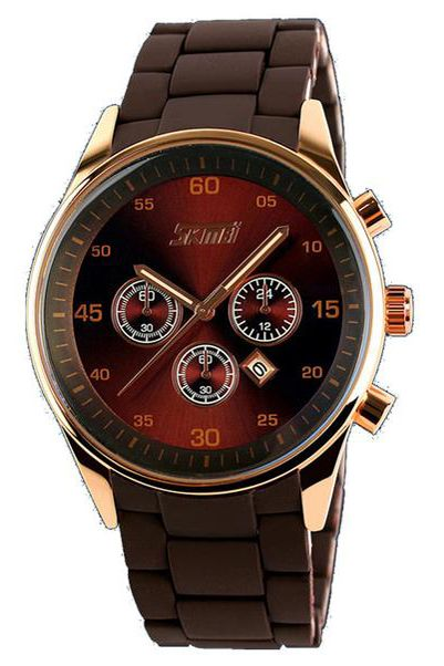 Skmei Classic Quartz Watches High End Luminous Waterproof Rose Gold For Mens 9065 $24.99