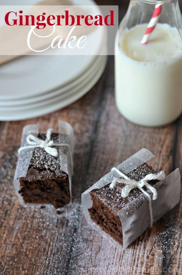 Delicious Gingerbread Cake #HolidayButter #shop #cbias