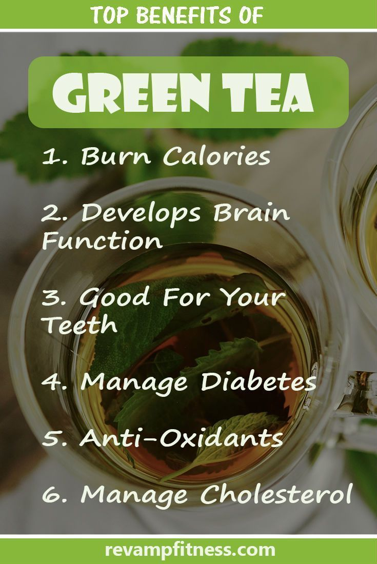 Dramatically improve your health from the benefits of green tea! VISIT revampfitness.com for more! #wellness