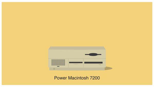 History of Mac #2 - Desktop on Behance