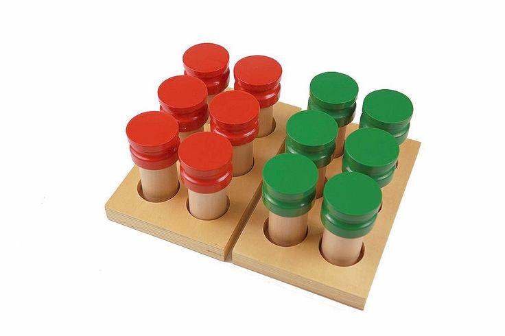 Montessori Sensorial Material Purpose is to refinement of olfactory sense Tow…