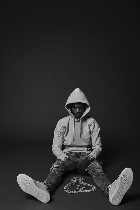 Busy Playlist Boogie Wit Da Hoodie Rapper Wallpaper Iphone Black And White Aesthetic